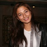 At IMG's special event for their 6 SI stars: Australian beauty Jessica Gomes.