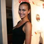 Irina Shayk flashes her great smile