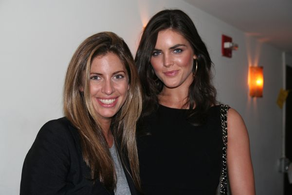 Vogue's Valerie Boster with SI new star Hilary Rhoda