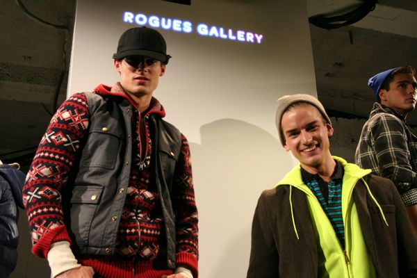 Danny and Helge for Rogues Gallery