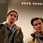 RJ and Steve for Save Khaki