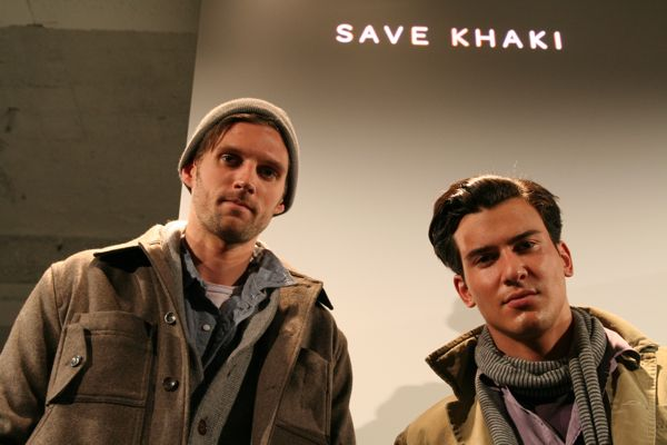 RJ and Steve for Save Khaki
