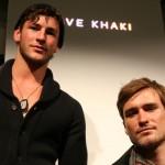 Parker and Jonathan for Save Khaki