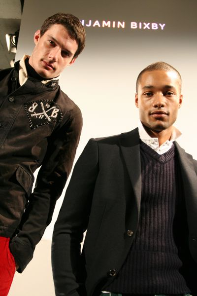 Sam and Michel for Benjamin Bixby