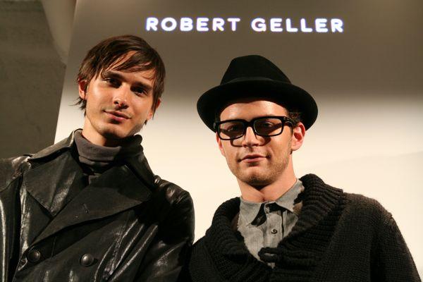 David and Jamie for Robert Geller