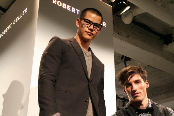 Simon and Ryan for Robert Geller