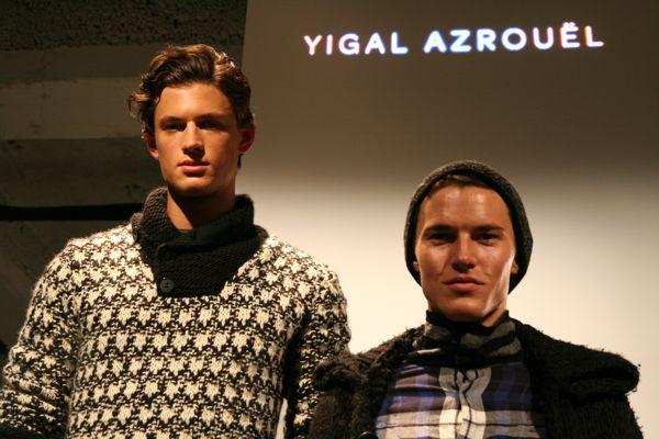 Garrett and Henry for Yigal Azrouel