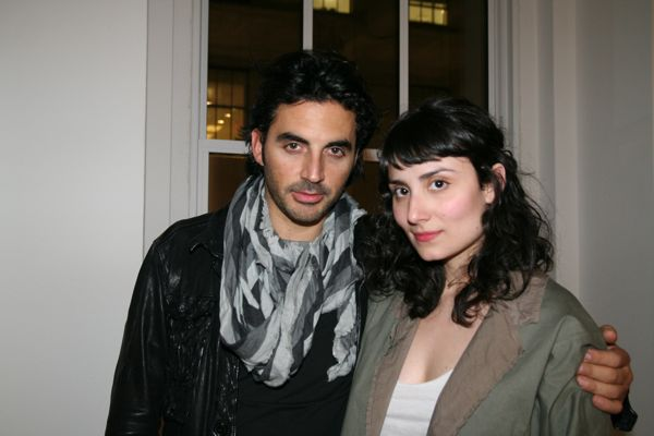 Yigal Azrouel and friend