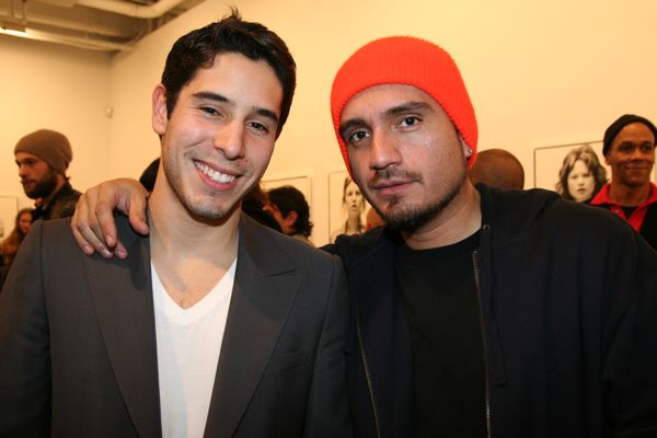 Kiko from Visionaire with Peter from Supreme
