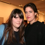 Rodarte's Kate Mulleavy with casting director's Jennifer Venditti
