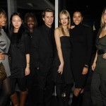 Mark with some of Wilhelmina models including the lovely Ana Paula and jewelry designer Manon von Gerkan