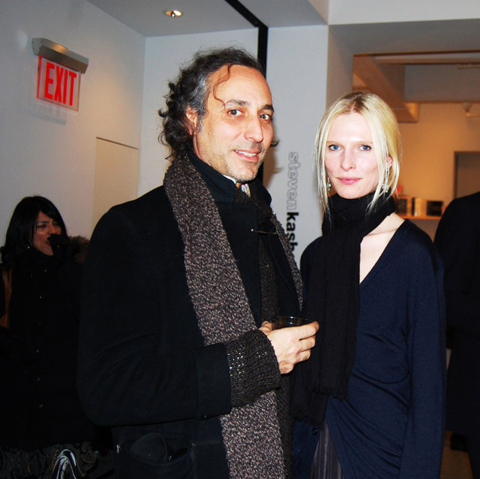 Christina Kruse and hairstylist Bob Recine.