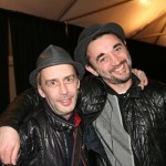 Everyone's favorite hair maestro Eugene Souleiman (right) with his right hand man Martin