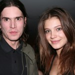 Bloody Social's Jamie Burke with girlfriend Mila (from IMG)