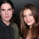 Bloody Social's Jamie Burke with girlfriend Mila (from IMG)
