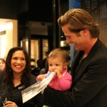 One of Mark's youngest fans