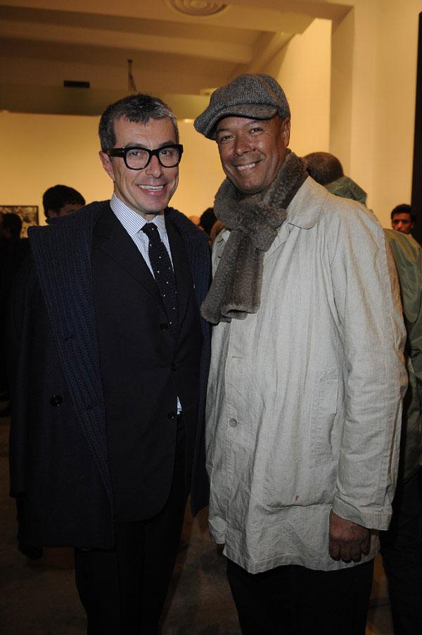 Giorgio Guidotti with Michael Roberts
