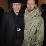 Diesel founder Renzo Rosso with Stefano Rosso