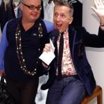 Paper Magazine's Mickey Boardman & Simon