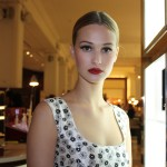 Anna Carter (IMG) looks radiant in the Dolce makeup