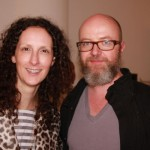 Stylist Jen Hitzges and photographer Andrew Hetherington (whose cow image was a hot commodity at the auction).