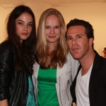 Isabella, Sofi and 1 Model Management head Scott Lipps
