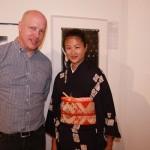 One Image Charity founder Keiko Shimizu with producer Chris Benton