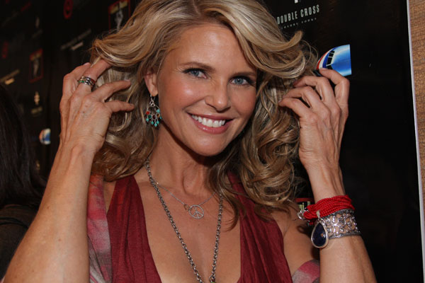 Christie shows us her new line of jewelry (except the long necklace). See it at Christiebrinkleyjewelry.com