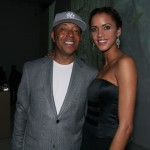 Noemie and new beau Russell Simmons