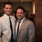 Narciso Rodriguez with close friend Thomas