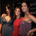 Patricia, Katie Ford of Ford Models with Padma Lakshmi