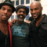 Red agents Dave and George with the iconic Tyson Beckford