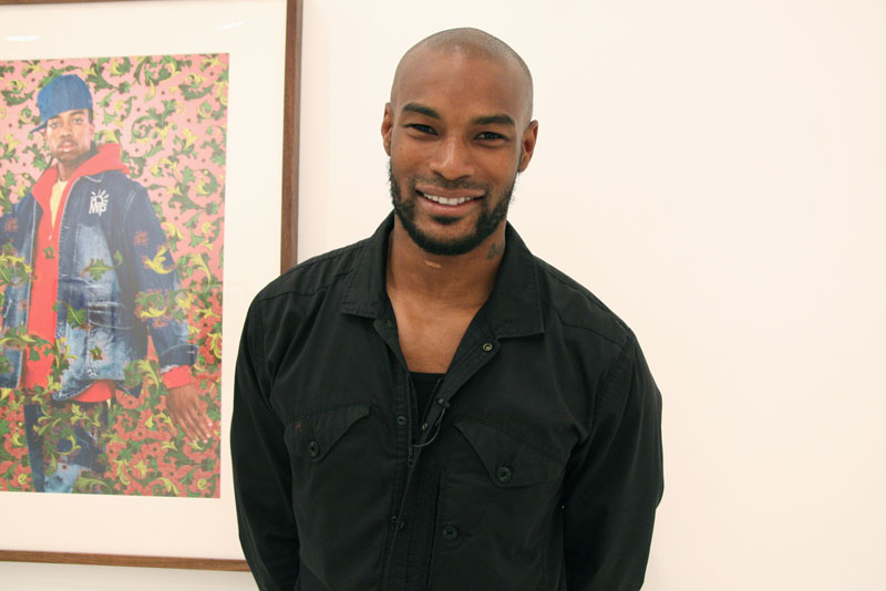 Tyson Beckford in his relaxed summer look