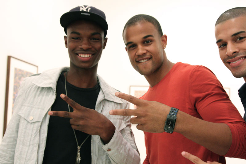 Salieu Jalloh and Andre Douglas