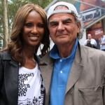 2 legends, Iman and Patrick Demarchelier