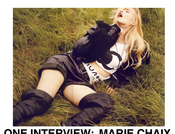 Interview: Marie Chaix