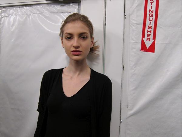 New face Simona