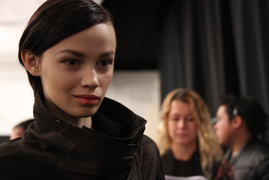Fashion Week Backstage Day 2 - Of The Minute