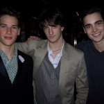 Arthur, Eric and Mitch, the new generation