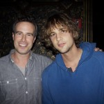 Matthew Scrivens and friend