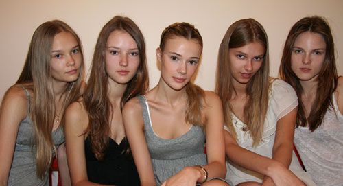 Amazing Beauties From Ford Models. Natasha, Dei, Sara, Sigita, Polina. Ph: MDC