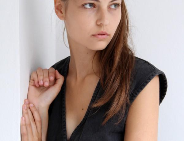 Lin Kjerulf – polaroid courtesy 2pm Model Management