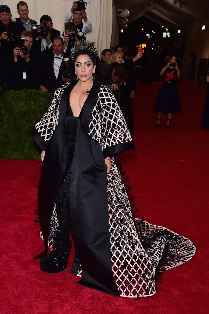 NEW YORK, NY - MAY 04:  Lady Gaga attends the 'China: Through The Looking Glass' Costume Institute Benefit Gala at Metropolitan Museum of Art on May 4, 2015 in New York City.  (Photo by George Pimentel/WireImage)