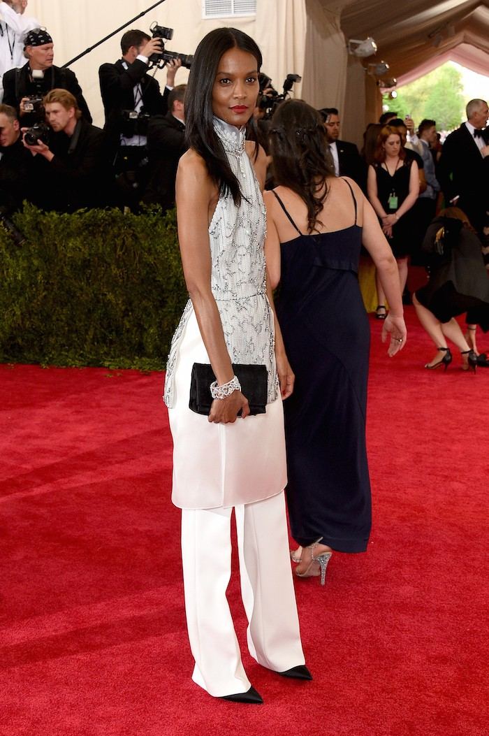 """NEW YORK, NY - MAY 04:  Liya Kebede attends the """"China: Through The Looking Glass"""" Costume Institute Benefit Gala at the Metropolitan Museum of Art on May 4, 2015 in New York City.  (Photo by Larry Busacca/Getty Images)"""