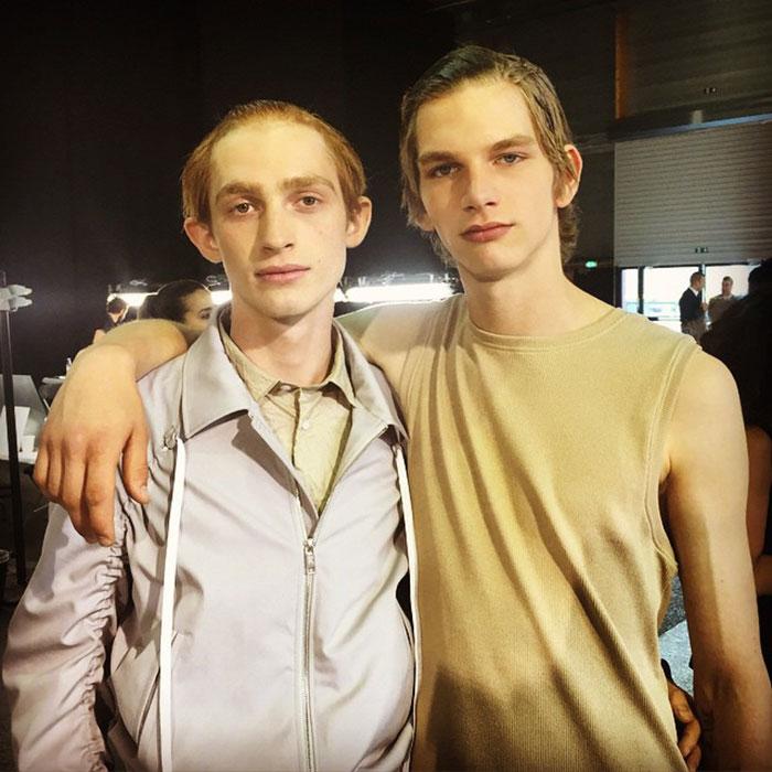 Charlie-Ayres-Taylor-and-Erik-van-Gils-at-Kenzo