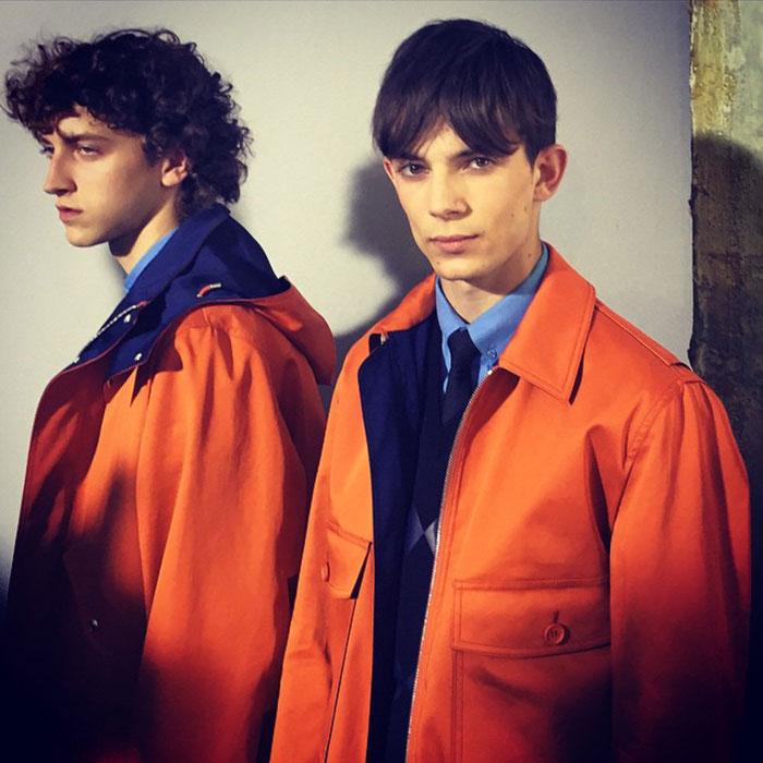 Niels-Trispel-and-Matthieu-Gregoire-at-Dior-Homme