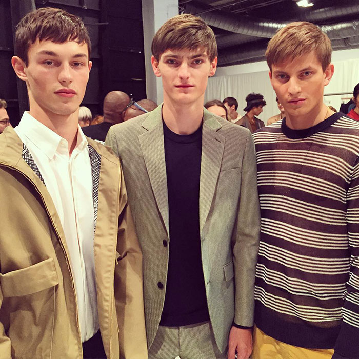 Kit-Butler,-Alexander-Beck,-and-Benjamin-Benedek-at-Perry-Ellis