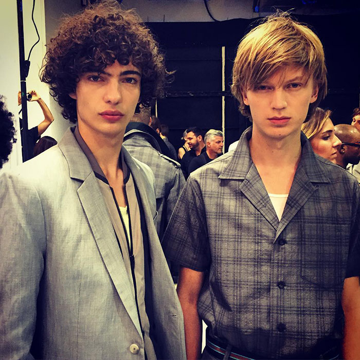 Piero-Mendez-and-Jonas-Gloer-at-Richard-Chai