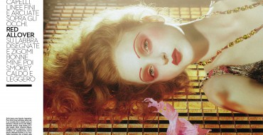 Beauty gets Cinematic for Vogue Italia