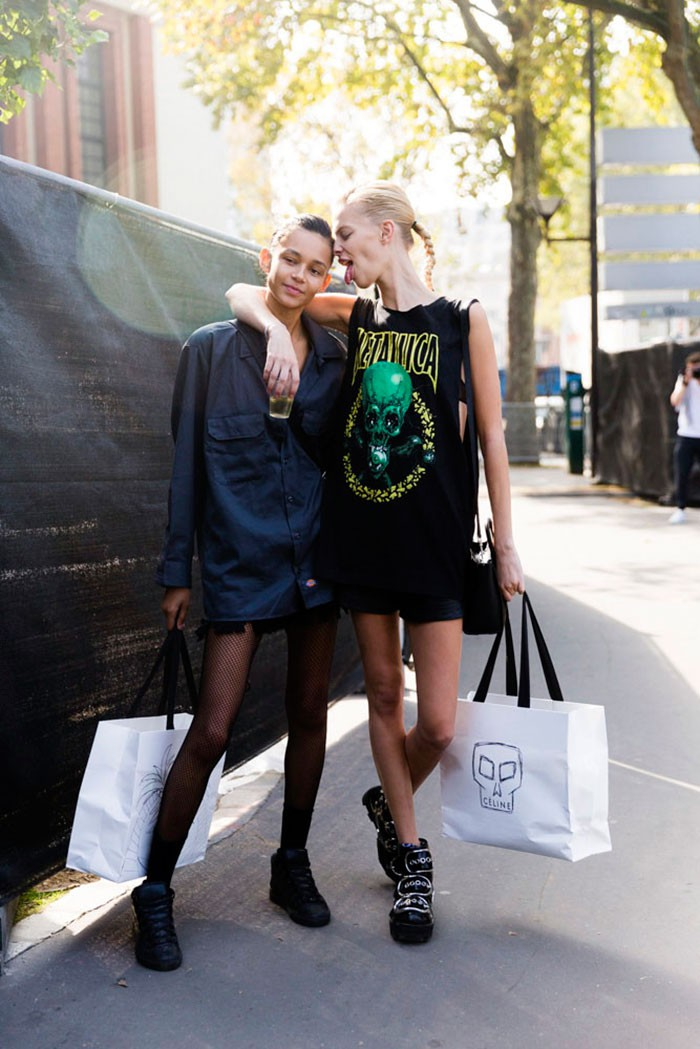 On The Street: PFW S/S 16 Day 6 – Of The Minute